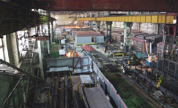 Завод мобильных зданий